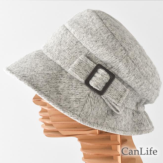 冬用帽子 うしろゴム・クロッシェ帽子