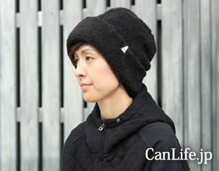 医療用帽子・抗がん剤帽子、冬用もふもふワッチ帽子(裏地付き)