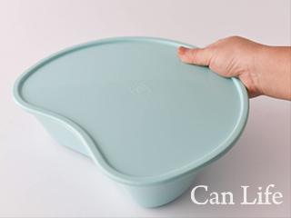 嘔吐物容器/グリーンベースン:蓋付き