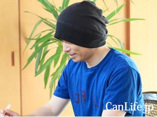 医療用帽子「炭のチカラ帽子」